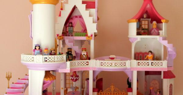 Chateau de princesse playmobil
